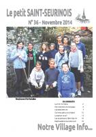 Novembre 2014 – PetitStSeurinois n°36